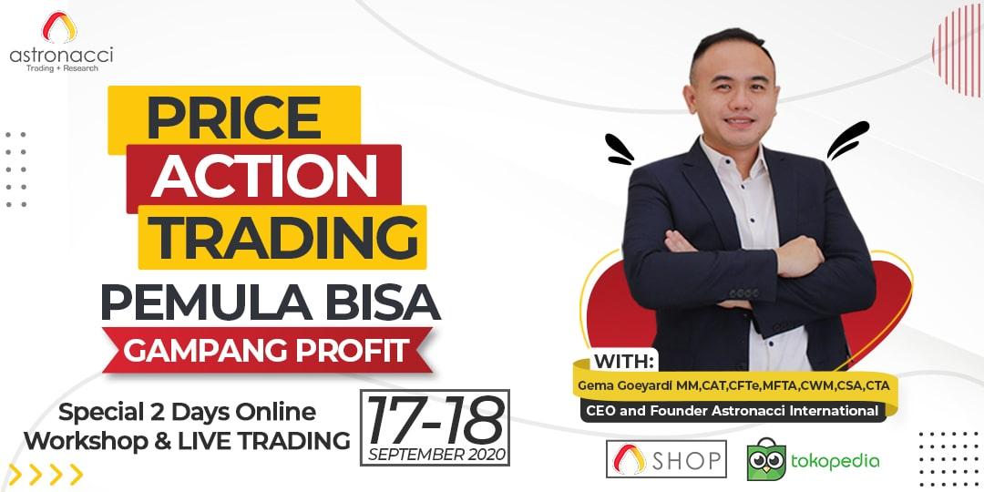 Price Action Trading : Pemula Bisa Gampang Profit